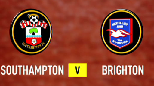 Bbc sport football league one southampton 1 3 brighton - Bbc football league 1 table ...