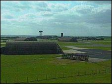 Alconbury airfield