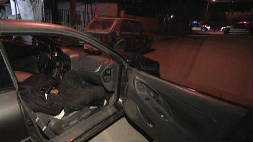 Mexico Murders Crime Scene