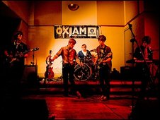 Brilliant Mind at Oxjam. Photo: Dave Wala