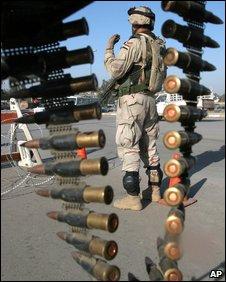 US soldier, AP
