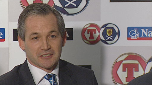 Former Scotland manager George Burley