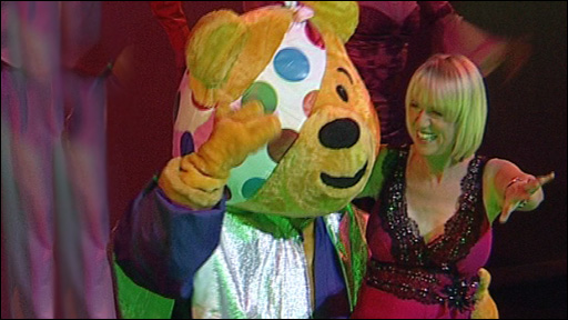 Sally Taylor and Pudsey