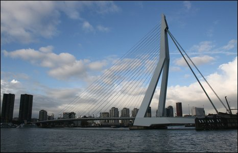 Rotterdam skyline