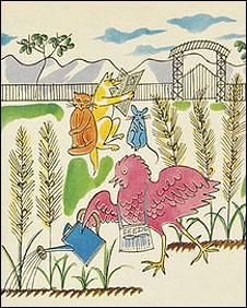 Warhol children's illustration