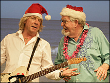 Rick Parfitt and Rolf Harris