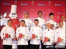 Tokyo chefs who have three Michelin stars - 17 November 2009
