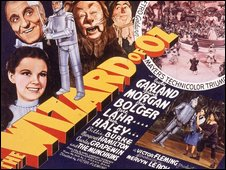 poster for the film Wizard of Oz