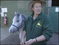 Stella King at Canterbury Horse Rescue