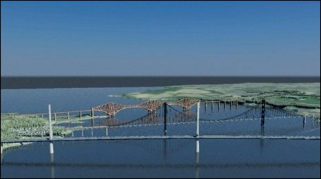 forth crossing - artists impression