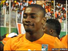 Chelsea and Ivory Coast striker Salomon Kalou
