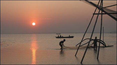 Ganges Delta (BBC)
