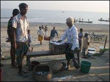 Fish market (BBC)