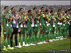 The Iraqi national football team