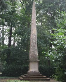 The Simon de Montfort obelisk