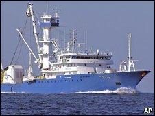 The Spanish tuna boat Alakrana (undated photo from before the hijacking)