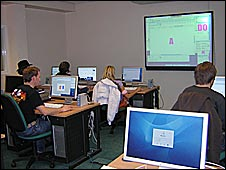 ICT suite in a college