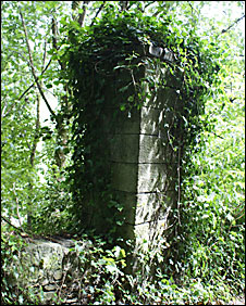 Gatepost in Tamar Valley