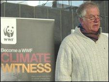 WWF Cymru 'Climate Witness' Jerry Percy