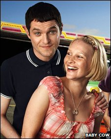Matthew Horne and Joanna Page as Gavin & Stacey