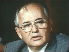 Mikhail Gorbachev, former Soviet president