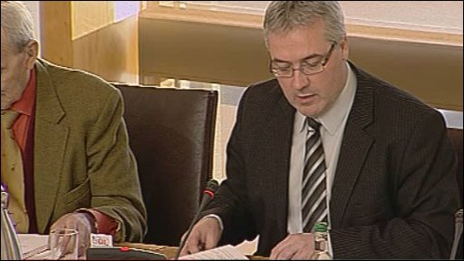 Labour MSPs Frank McAveety chaired the petitions committee