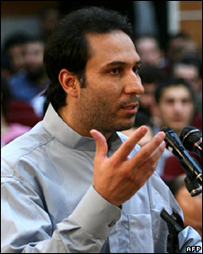 Mohammad Reza Ali Zamani in court (8 August 2009)