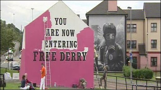 'Free Derry' wall