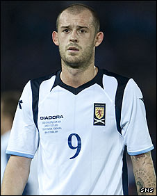 Scotland striker Steven Fletcher