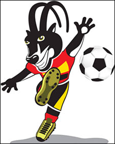 CAN 2010 mascot