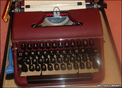 T S Eliot's typewriter
