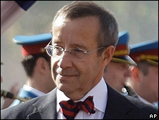 President Toomas Hendrik Ilves, 15 Oct 09