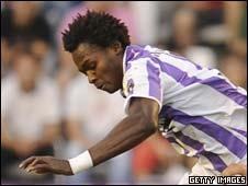 Angola striker Manucho