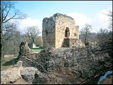Ewloe Castle (image courtesy of Cadw. Crown Copyright)