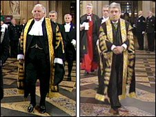 Michael Martin and John Bercow