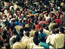 Nigerian crowds