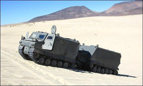 Warthog armoured vehicle