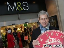 Marks & Spencer chief Sir Stuart Rose