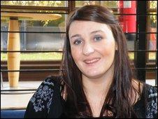 Kimberley Hall from Peebles has severe diabetes.
