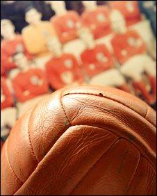 The 1966 World Cup Final match ball