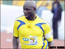 Former World Footballer of the Year George Weah