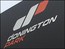Donington Park sign