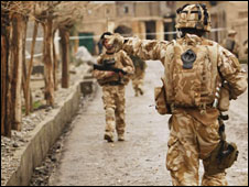 British marines in Helmand