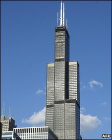 The Sears Tower - now the Willis Tower - in Chicago