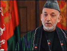 Hamid Karzai's inauguration in Kabul, 19 Nov