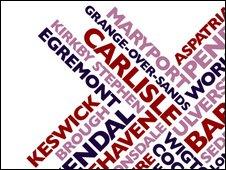BBC Radio Cumbria logo