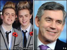 John and Edward Grimes and Gordon Brown