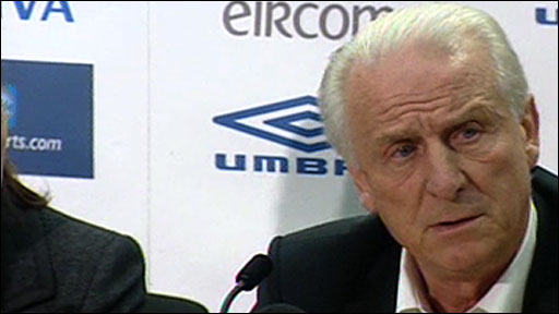 Republic of Ireland boss Giovanni Trapattoni