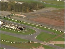 Donington Park track 19/11