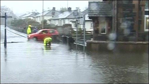 Keswick flood